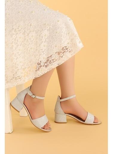 Kiko Kids Kiko 769 Çupra Günlük Kız Çocuk 3 Cm Topuk Sandalet Ayakkabı Gümüş